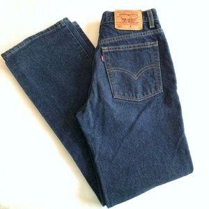 "LEVI'S 517 Slim Fit 10"" Rise Bootcut Jeans 9"